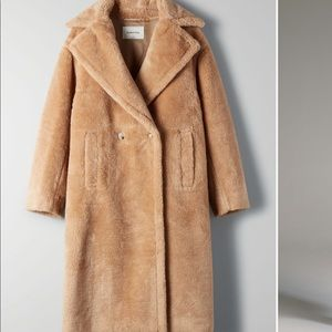 NWT Teddy Coat